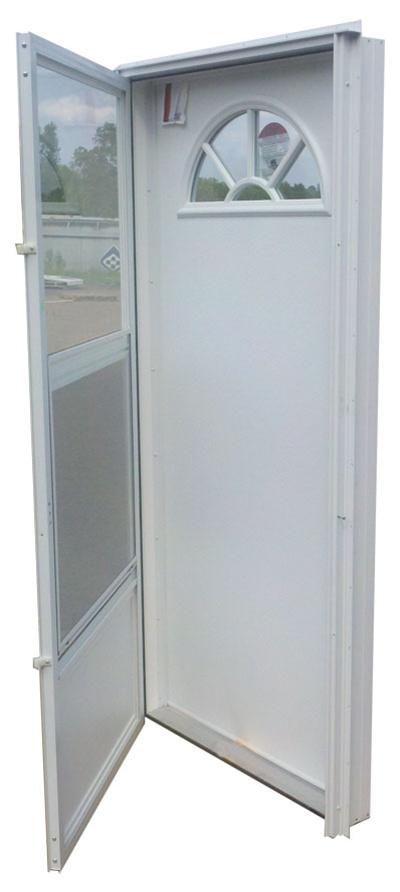 32x76 Aluminum Door Fan Window Rh For Mobile Home