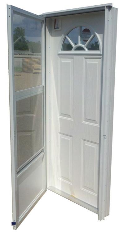 32x78 Steel Door Fan Window LH  sc 1 st  Complete Mobile Home Supply & 32x78 Steel Door Fan Window LH for Mobile Home Manufactured Housing