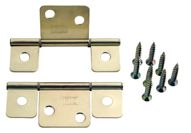 Interior Door Hinge With Extended Leaf For Mobile Home