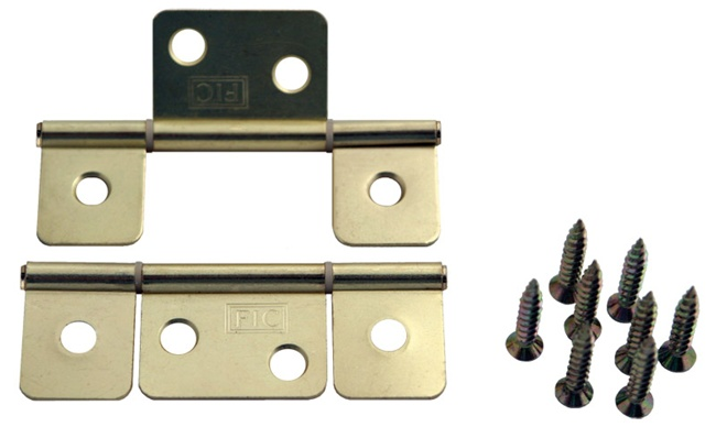 Pair Of Interior Door Hinges For Mobile Home Manufactured