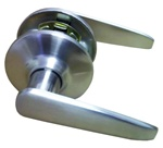 Satin Nickel Lever Passage Door Knob