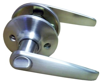 Satin Nickel Lever Privacy Door Knob