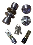 Stainless Steel Combination Door Lock Set