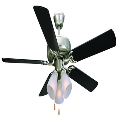 Homestead 52 Quot Downrod Ceiling Fans Satin Nickel