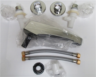 Adjustable Chrome Garden Tub Filler