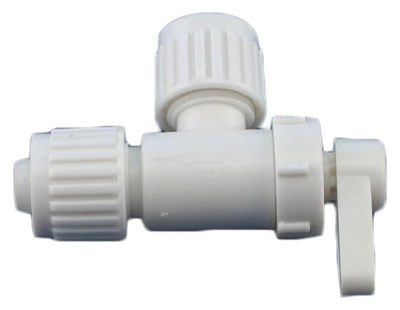 Three Eighths by Three Eighths inch Angle Stop Valve