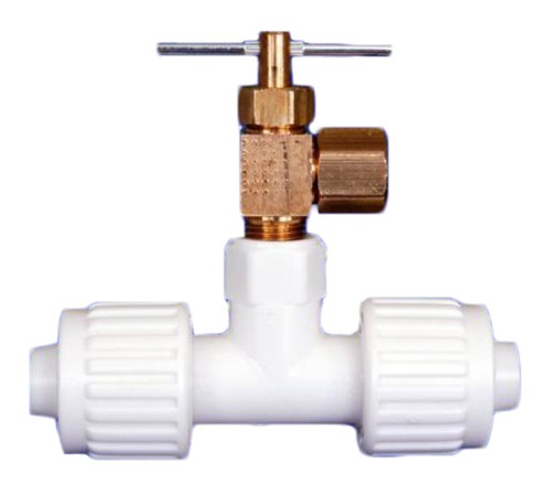 1 2 X 8 Ice Maker Valve Tee Compression Ing Flair