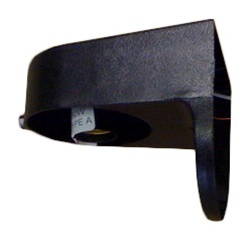 Black Plastic Exterior Light Fixture