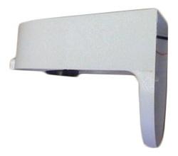 White Plastic Exterior Light Fixture
