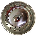 Round Edge Metal Sink Strainer