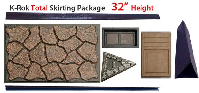 K-Rok Entire House Skirting Package - 32