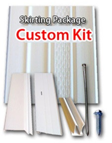 Calculated Vinyl Skirting Kit