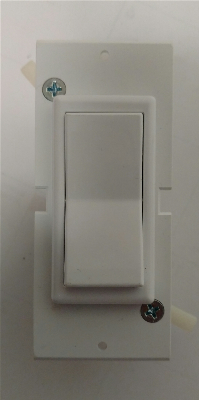 Mobile/Manufactured Home Self Contained Rocker light switch
