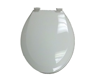 Plastic Toilet Seat White for Mobile Home Manufactured Housing